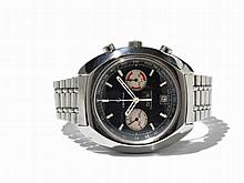 Certina Chronograph Wristwatch, Switzerland, Around 1975