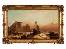George Knight, attr., Oil Painting, Northumberland, c. 1860