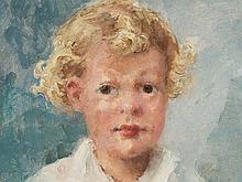Ernst R. Zimmermann, Portrait 'Bavarian Boy', around 1920