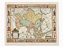 Nicolaes Visscher, Asia Nova Descriptio, Copper Map, 1657