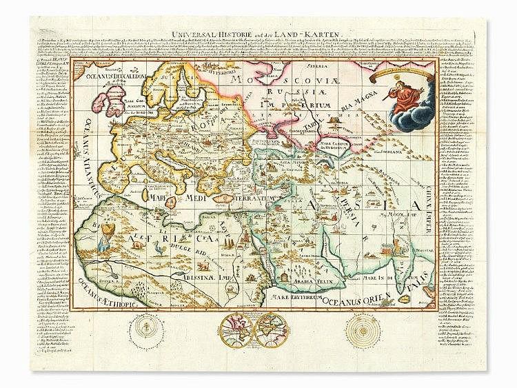 Andreas Ehmann, Universal-Historie auf der Landkarten, 1735