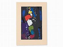 Max Ackermann (1887-1975), Color Silkscreen, Composition, 1958