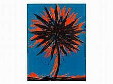 Otto Piene, Lithograph in Colors, 'Centerbeam', 1978