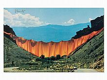 Christo & Jeanne-Claude, Poster 'Valley Curtain', USA, 1972