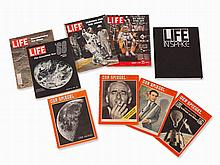 LIFE and SPIEGEL Editions with Space Cover Stories, 1955-2007