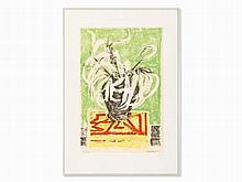 Erich Heckel (1883-1970), Graphic, 'Eucalyptusblätter', 1966