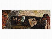 Ralf Kerbach, Oil on Canvas, Still Life, c. 1980/90s