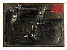 Guido Strazza (b. 1922), Painting, 'La Terra di un Uomo', 1957