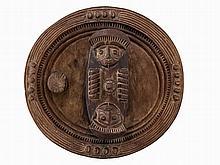 Igbo, 'Okwa Oji' Kola Nut Bowl, Nigeria, c. 1940