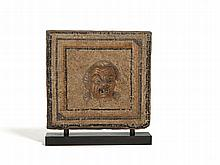 Roman Mosaic with Mask of 'Hegemont Therapon', 1st/2nd C.