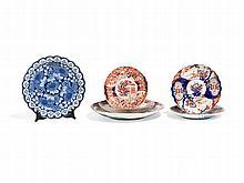 Six Highly Detailed Porcelain Plates, Japan, Meiji Period