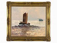Georg Arnold-Graboné, 'Fischerheimkehr auf der Nordsee'