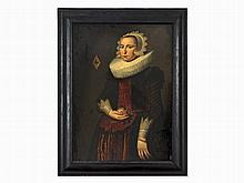Nicolaes Eliaszoon Pickenoy, Manner of, Lady's Portrait, 19th C