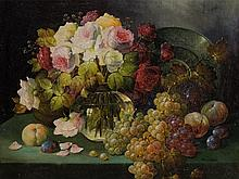 Friedrich Stoitzner, Flower Still Life, early 20th C.