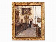 Gotthardt Kuehl (1850-1915), St Peter's Abbey, Salzburg, 1912