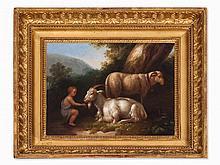 Jakob Ph. Hackert, Painting, Bucolic Landscape, c. 1805/06