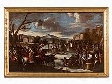 Cornelis de Wael, Circle of, After the Battle, 17th C.