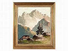 Georg Arnold-Graboné (1896-1982), Alpine Landscape, 1960/70s