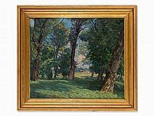 Carl F. Felber (1880-1932), Painting, Poplar Forest, c. 1910