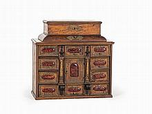 Table Cabinet, South Germany, Early 17th Century and Later