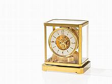 LeCoultre, Early Atmos Mantle Clock, Switzerland, c. 1955