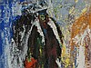 Heinrich Sussmann, Painting 'Orthodox Jew', around 1970