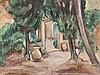 Émile Othon Friesz, Oil Painting 'La Maison aux Jarres', 1923