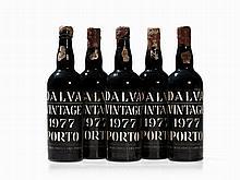 5 Bottles 1977 Dalva Vintage Port