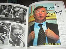 Signed Alex Ferguson Book