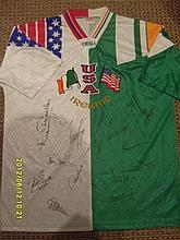 Signed Ireland National Shirt
