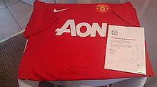 Manchester Uniteds Chris Smalling United Shirt