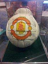 Manchester United Signed Football 1995/1996