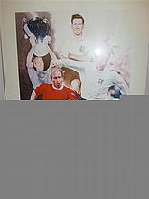 Signed Limited Sir Bobby Charlton Football Print