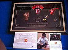 Limited Edition Signed Print off Ji Sung Park
