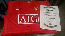 Manchester United Rio replica shirt from MUTV