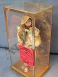 Geisha Girl doll in glass case