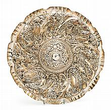 Large Portuguese ornamental serving dish, early decades of the 20th Century