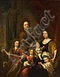 Attributed to Michiel van Musscher Dutch, 1645 – 1705 Family portrait 122x96 cm, Michiel van Musscher, Click for value