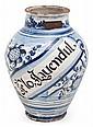 Catalan ceramic apothecary jar series
