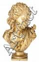 Auguste Joseph Pfeiffer Paris 1832 - 1886 Joven con una mariposa Escultura en bronce dorado