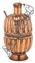 Jarra española en cobre, del siglo XVII