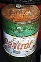 Castrol 60 litre oil drum