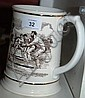 Franklin mint 'The ashes tankard' 1882-1982, large