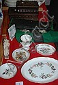Various sundries incl. Wedgwood, vintage cutlery,