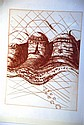 Brett Whiteley, original re-strike etching,