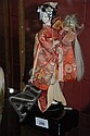 Vintage Japanese musical Geisha doll in working