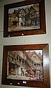 2 Vintage E.M Bennett prints, 1 a fox & hounds and