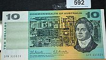 Coombs/Randall $10 note
