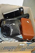 Box: camera gear to include ??? camera, Minolta