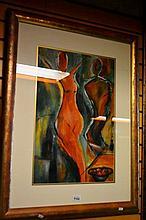 Judi Hall 'Bacchus nude - To guard the wine'